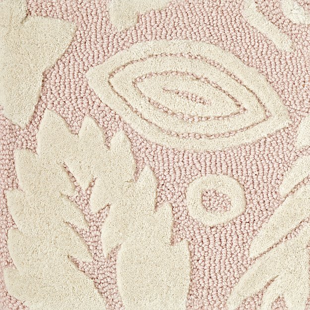 Pink Floral Rug Swatch Reviews Crate And Barrel