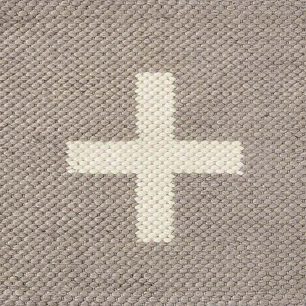 Positive Grey Indoor Outdoor Rug Swatch - Image 1 of 11