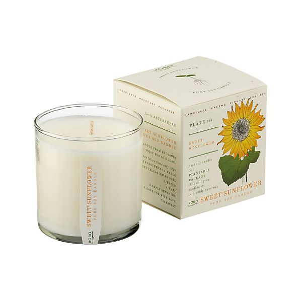 Sweet Sunflower Scented Candle
