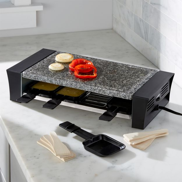 Swissmar Raclette Grill: 8-Person Grill | Crate and Barrel | {Raclette 54}