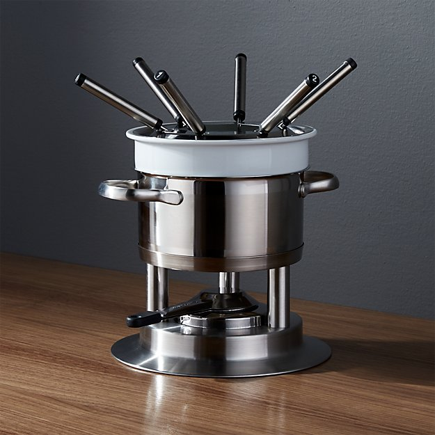 Swissmar Arosa 11-Piece Stainless Steel Fondue Set - Image 1 of 6