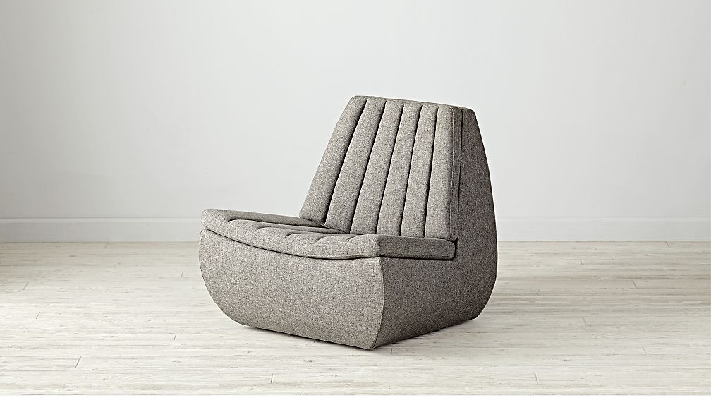 Lounge Chair modern swivel lounge chair reviews crate and barrel