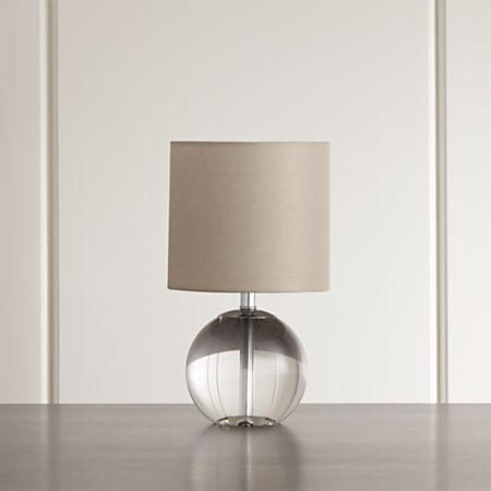 Sybil Globe Crystal Table Lamp Set Of 2