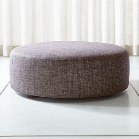 Fine Syd 44 Round Cocktail Ottoman Gmtry Best Dining Table And Chair Ideas Images Gmtryco