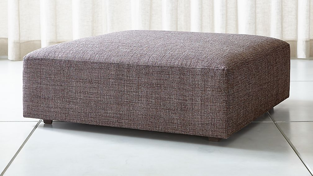 """Syd 44"""" Square Cocktail Ottoman - Image 1 of 3"""