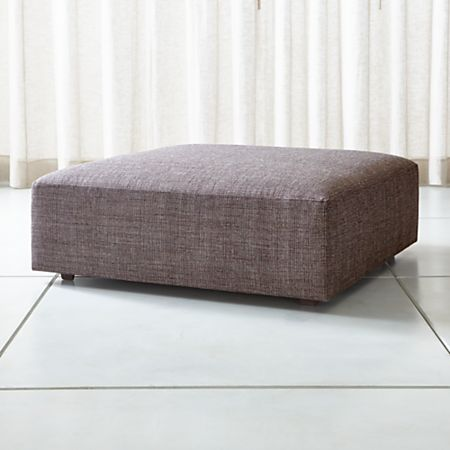 Fine Syd 44 Square Cocktail Ottoman Crate And Barrel Pabps2019 Chair Design Images Pabps2019Com