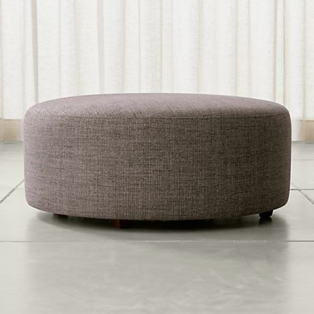 Peachy Syd 38 Round Cocktail Ottoman Caraccident5 Cool Chair Designs And Ideas Caraccident5Info