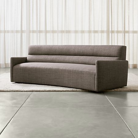 Sydney Curved Sofa Reviews Crate