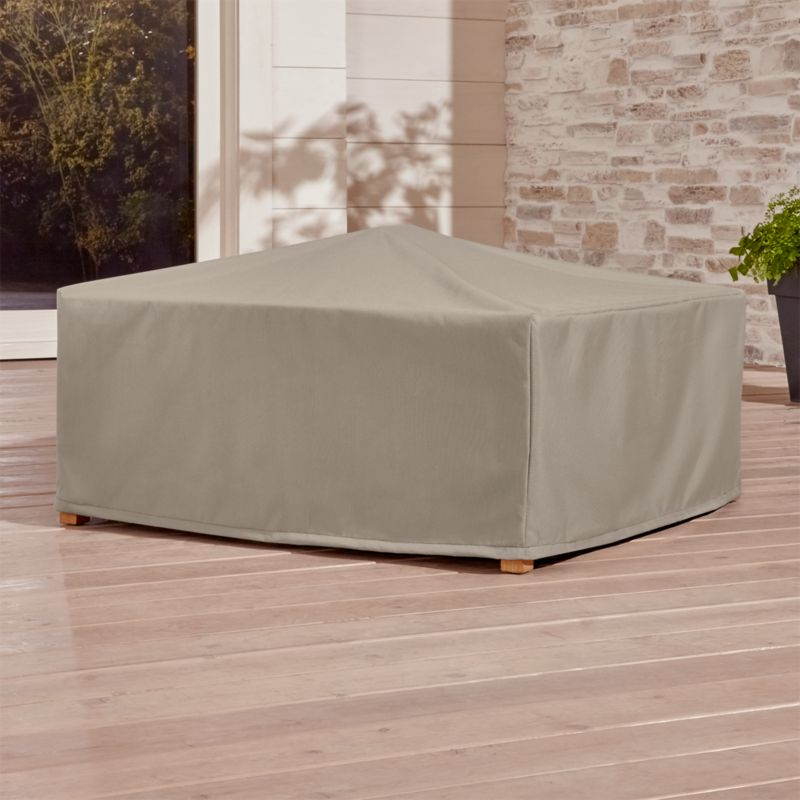 Outdoor Square Coffee Table Cover Crate And Barrel