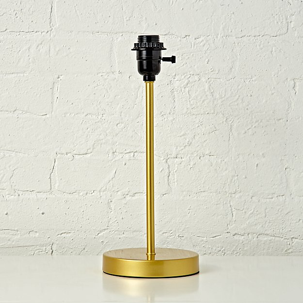 Table Lamp Mix Match Base Gold