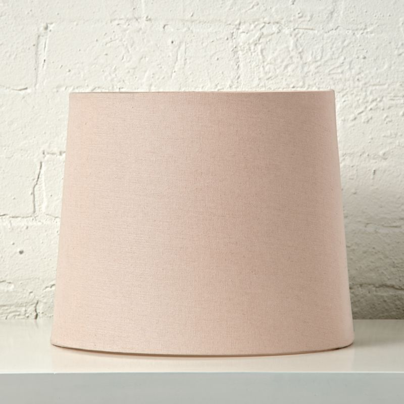 Mix And Match Light Pink Table Lamp Shade Reviews Crate And Barrel