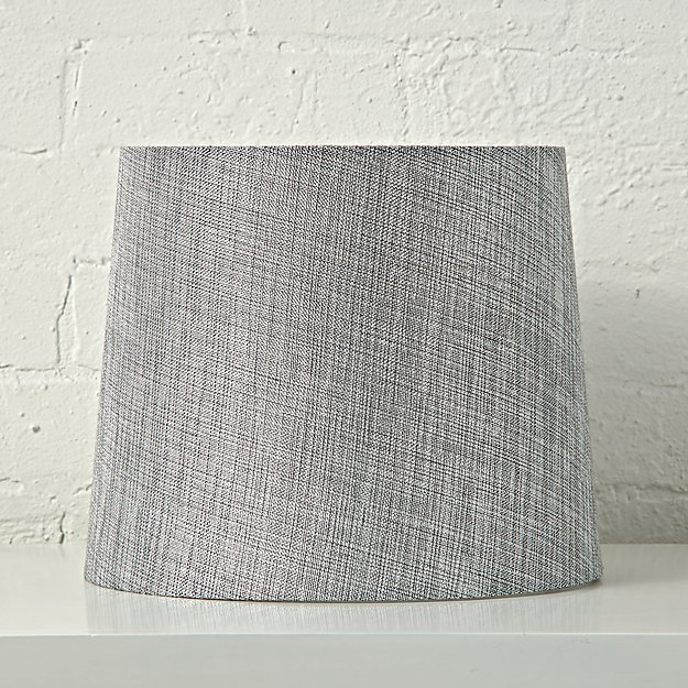 Textured silver table lamp shade reviews crate and barrel aloadofball Image collections