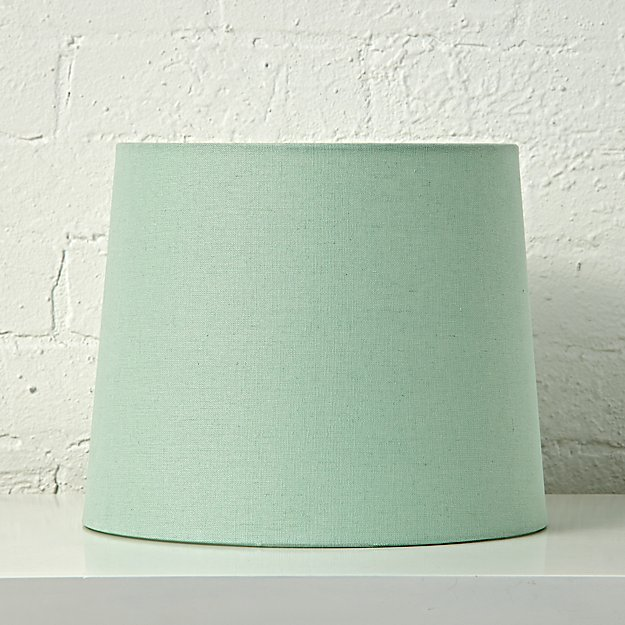 Mix and match mint table lamp shade crate and barrel mozeypictures Choice Image