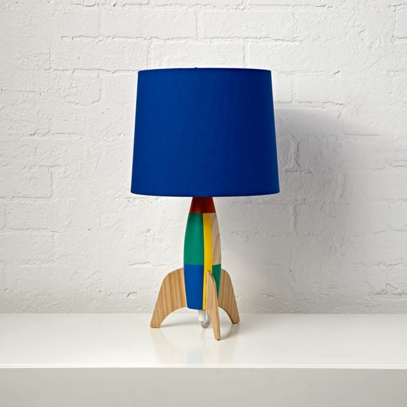 Rocket Table Lamp Reviews Crate And Barrel