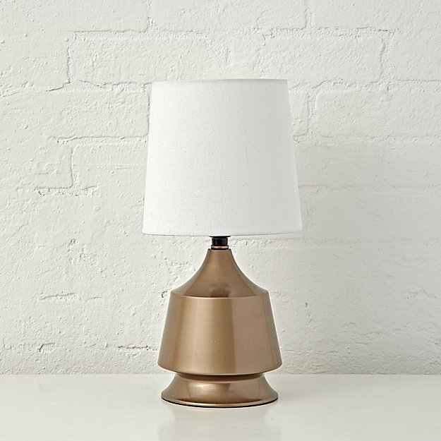gold tabletop touch lamp reviews crate and barrel. Black Bedroom Furniture Sets. Home Design Ideas