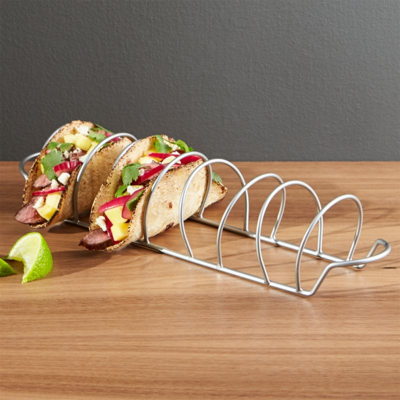 Taco Rack Reviews Crate And Barrel