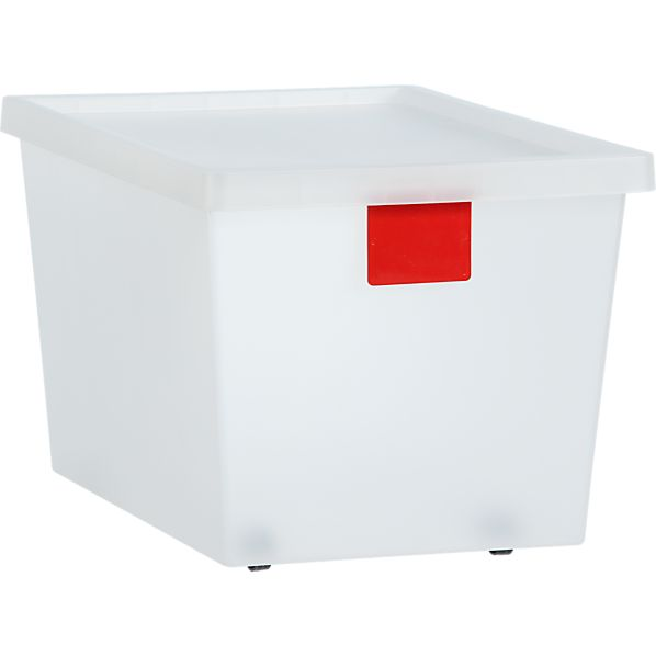 50 Liter Red Tag Store Bin