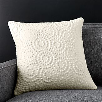 "Takato 18"" Pillow with Down-Alternative Insert"
