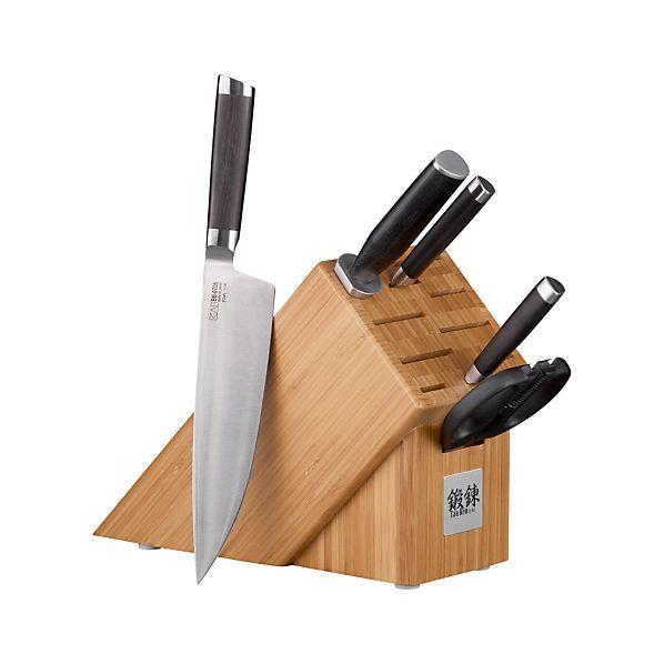 Kai ™ Tan Ren ™ 6-Piece Knife Block Set