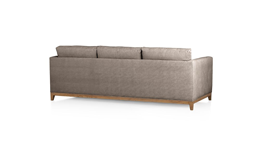Taraval 3-Seat Sofa with Oak Base
