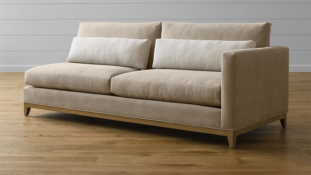Taraval Right Arm Sofa with Oak Base