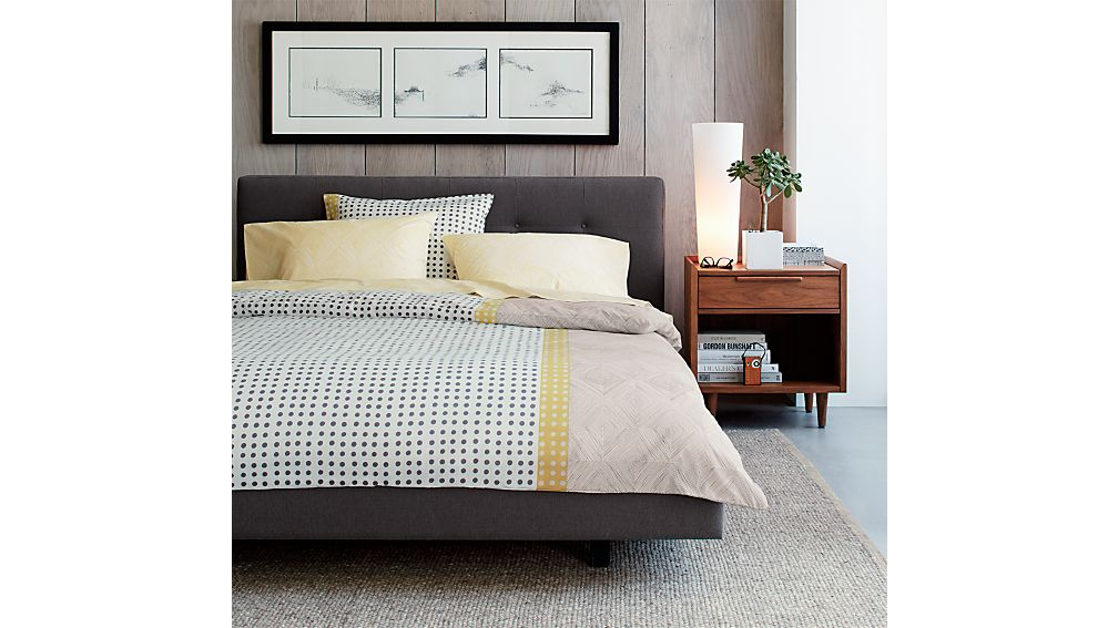 Tate Upholstered California King Bed