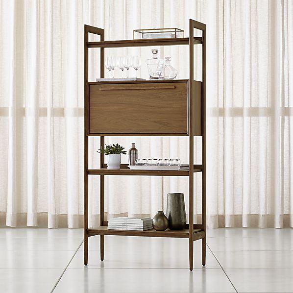 new products 75ce9 dd33e Tate Bookcase Bar