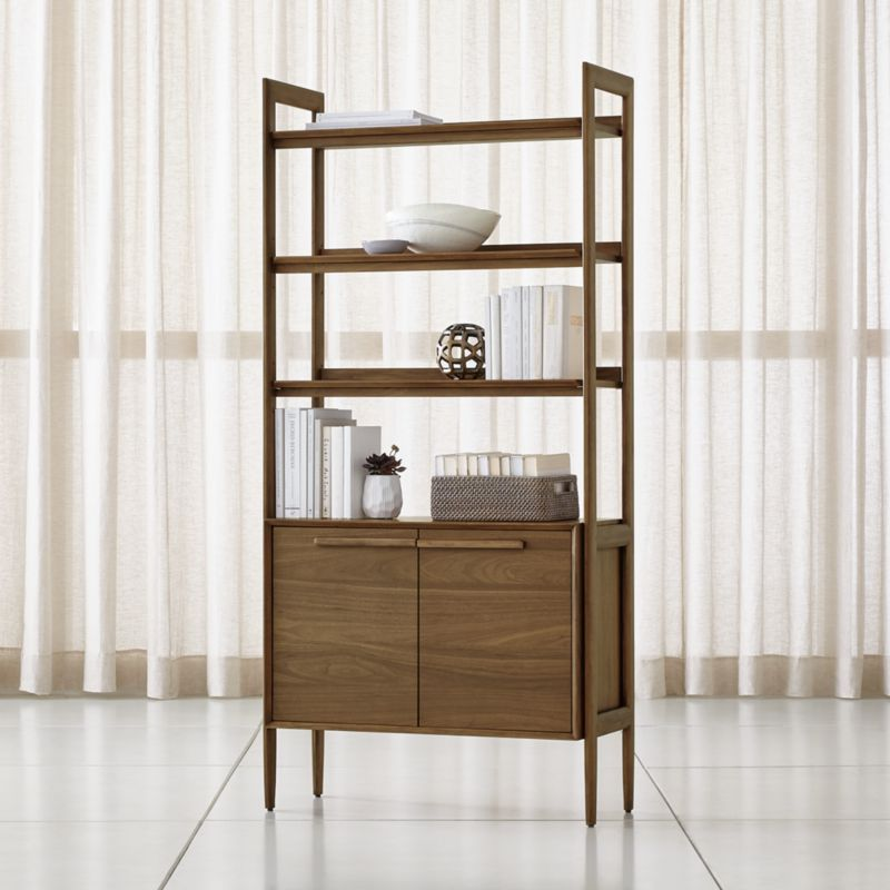 Tate Bookcase Cabinet + Reviews