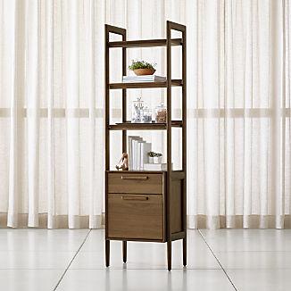 Tate Bookcase File Cabinet