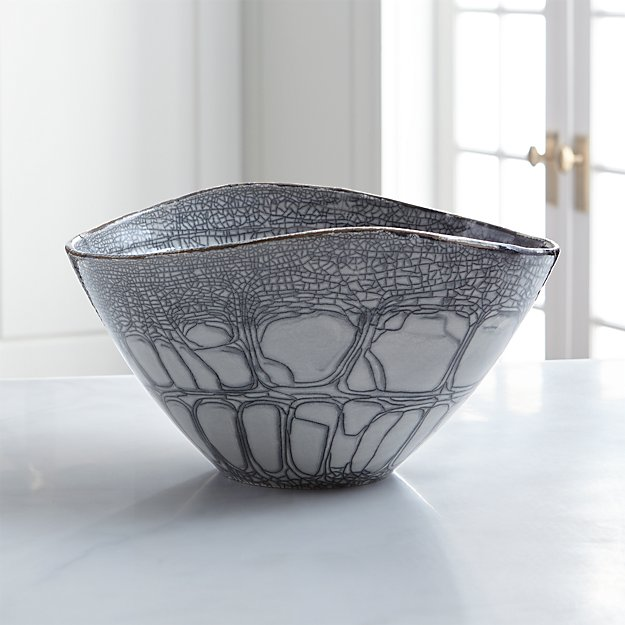 Tate centerpiece bowl reviews crate and barrel