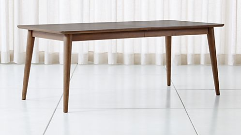 Tate Walnut Midcentury Dining Table