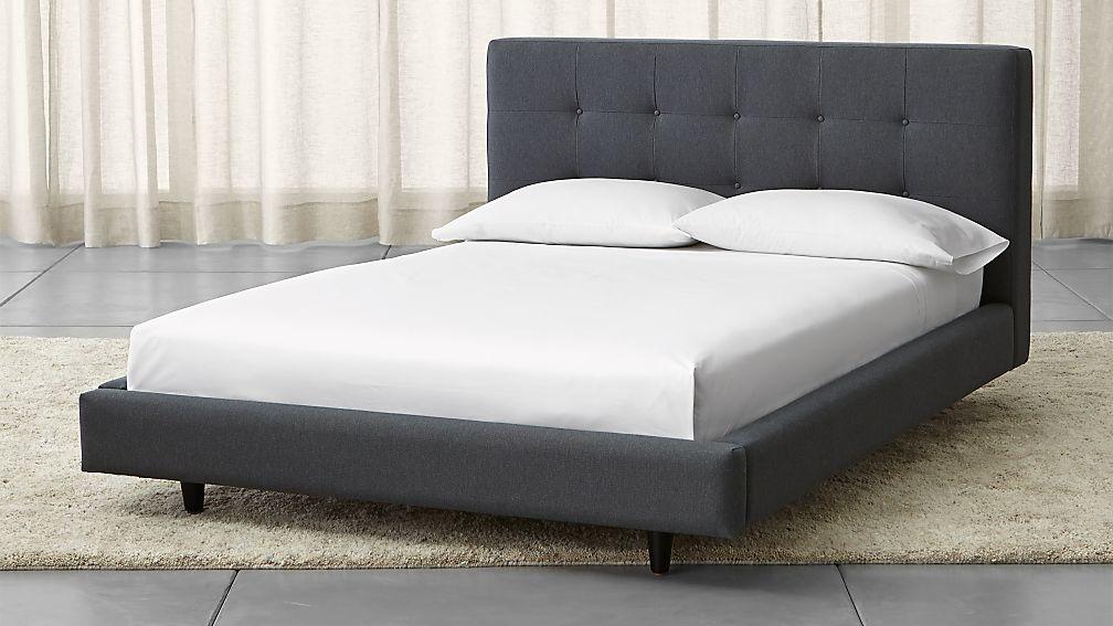 bed large of black bedroom for size platform mattress full queen king storage frame