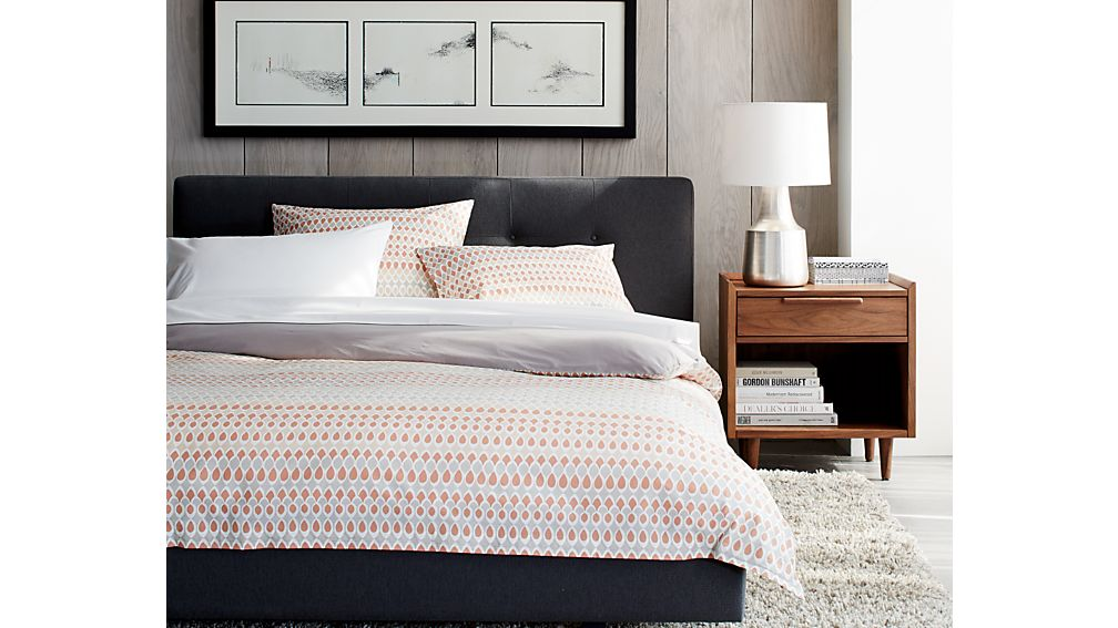 Tate Queen Bed | Crate and Barrel