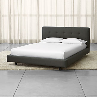 Tate Upholstered Bed 38""