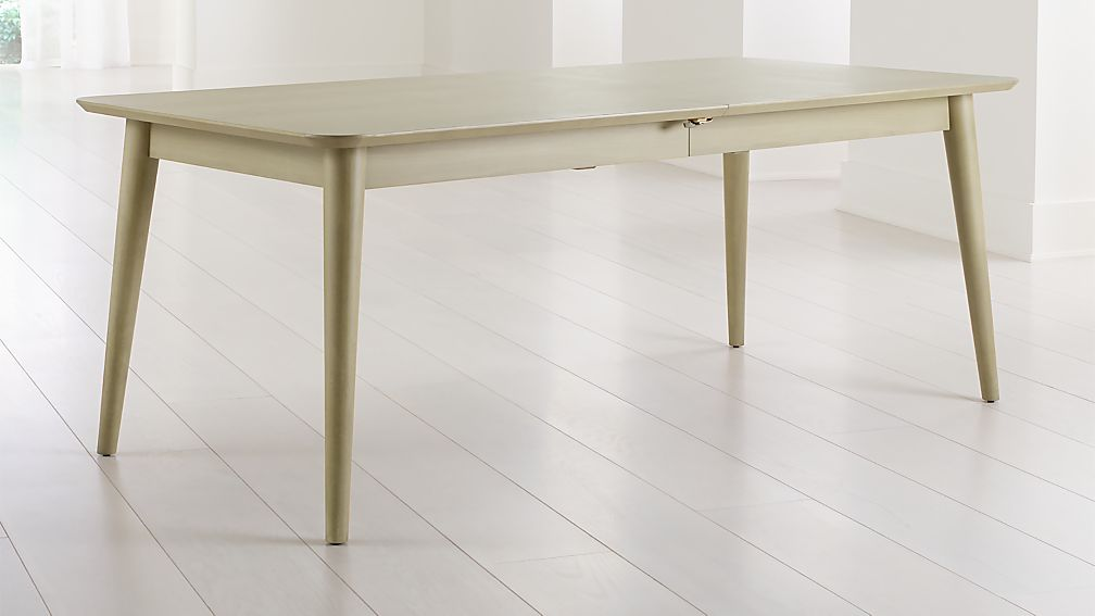 Tate Sand Extendable Midcentury Dining Table - Image 1 of 8
