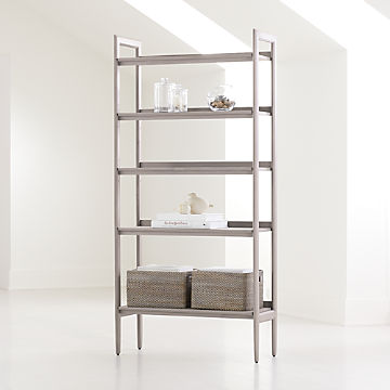Bookcases Shelves Crate And Barrel