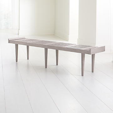 Brilliant Bedroom Benches With Storage Crate And Barrel Creativecarmelina Interior Chair Design Creativecarmelinacom