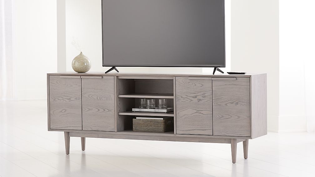 "Tate Stone 80"" Media Console - Image 1 of 6"