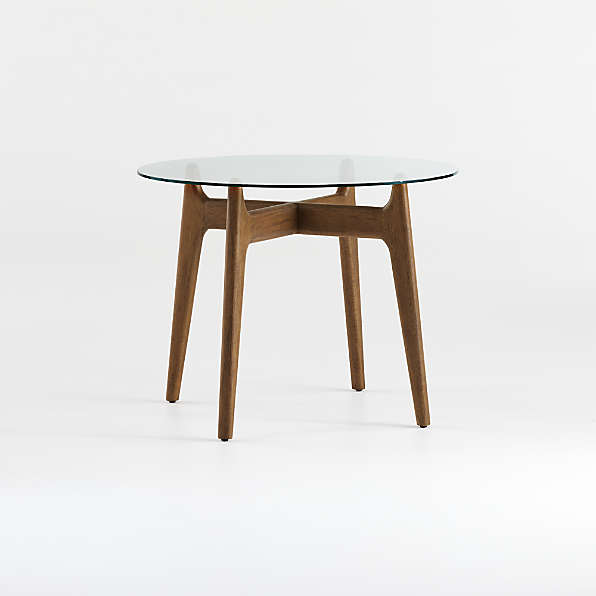 Glass Dining Tables Crate And Barrel