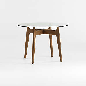 Round Dining Tables Crate And Barrel