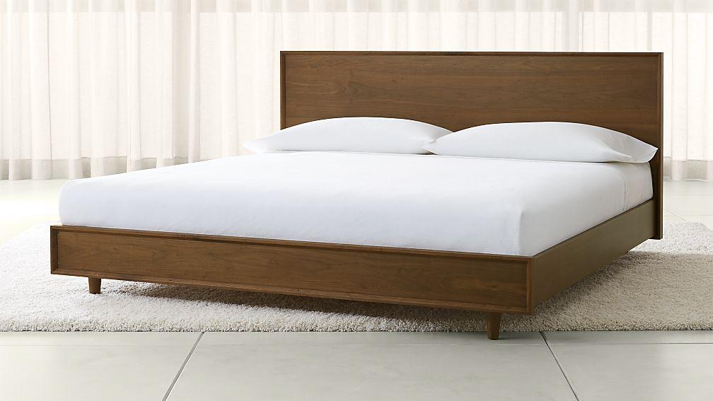 Ebern Designs Nageshwar Platform Bed Reviews: Tate King Wood Bed + Reviews