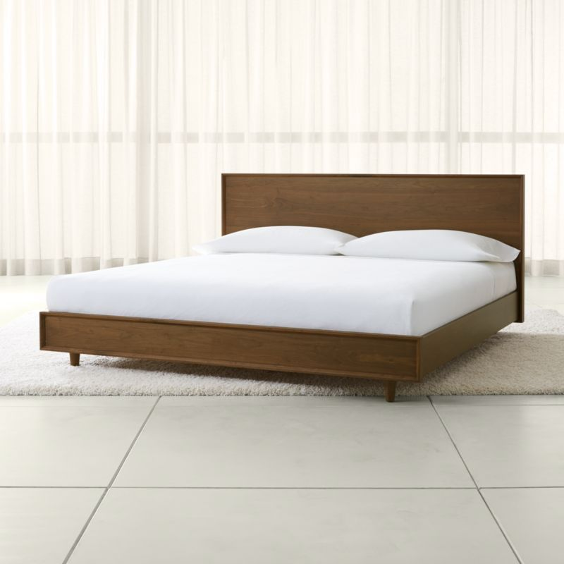 Tate King Wood Bed Reviews Crate And Barrel
