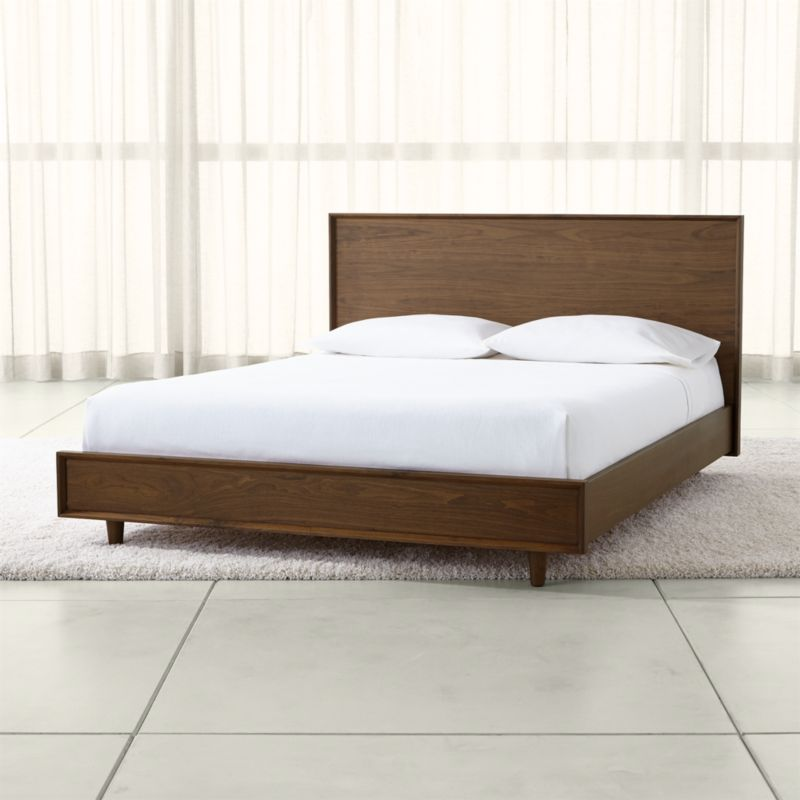 Tate Wood Beds Crate And Barrel