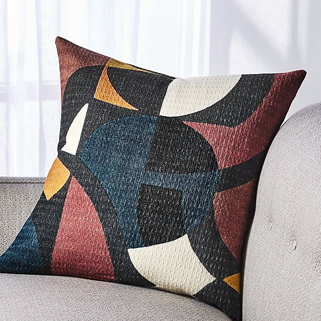 "Tatum Modern Pillow 20"" - Image 1 of 5"
