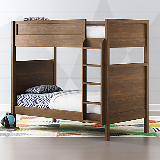 Taylor Twin Walnut Bunk Bed
