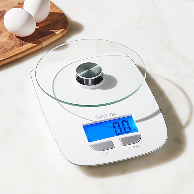 Taylor Glass Platform Digital Kitchen Scale + Reviews
