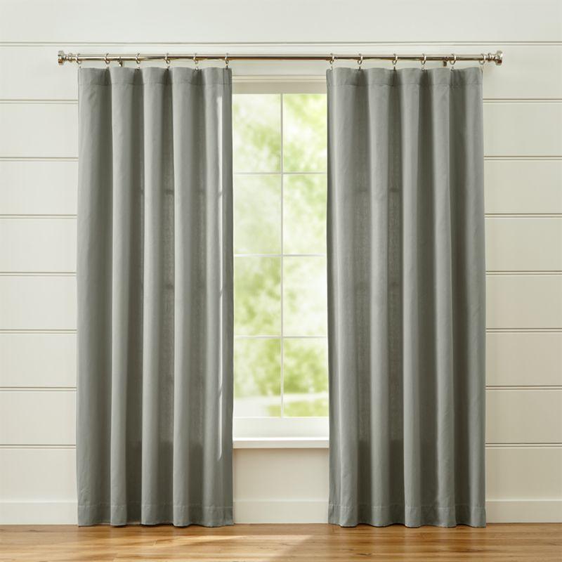 Taylor Grey Curtains