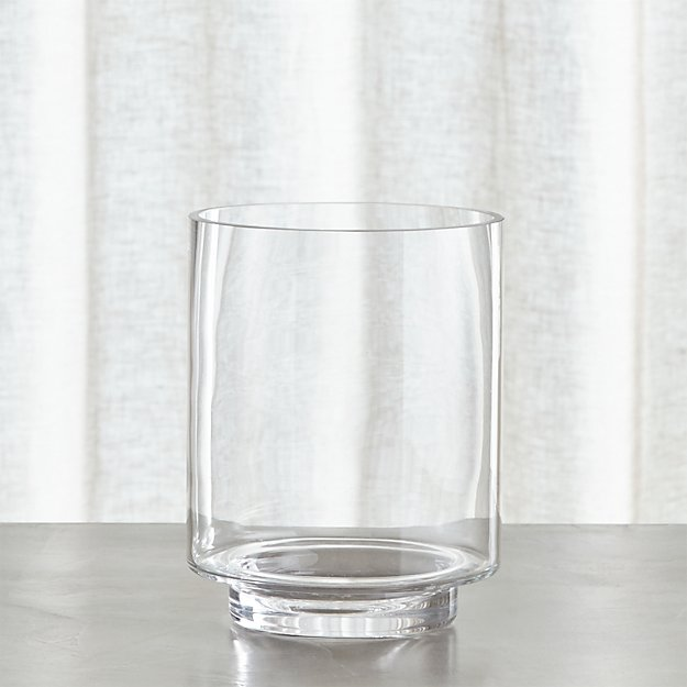 Taylor Large Glass Hurricane Candle Holder Reviews Crate And Barrel
