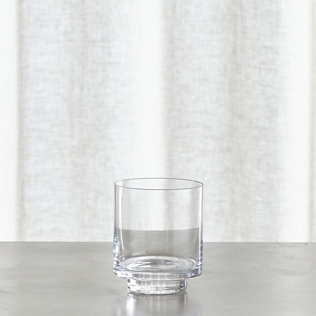 Taylor Small Glass Hurricane Candle Holder Reviews Crate And Barrel