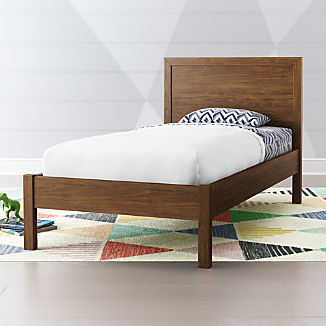 Taylor Walnut Twin Bed